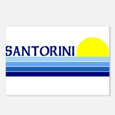Santorini, Greece Postcards (Package of 8)