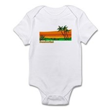 Santorini, Greece Infant Bodysuit