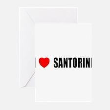 I Love Santorini, Greece Greeting Cards (Pk of 10)