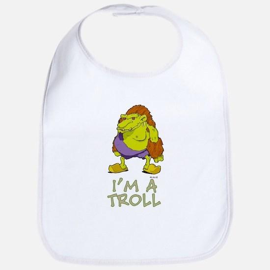 I'm a Troll Bib