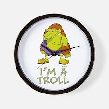 I'm a Troll Wall Clock
