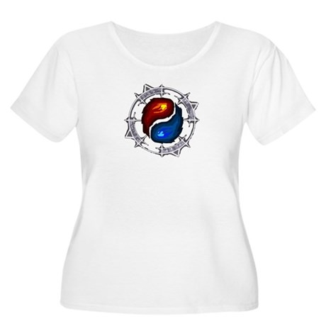 Fire, Ice and Arcane Women's Plus Size Scoop Neck
