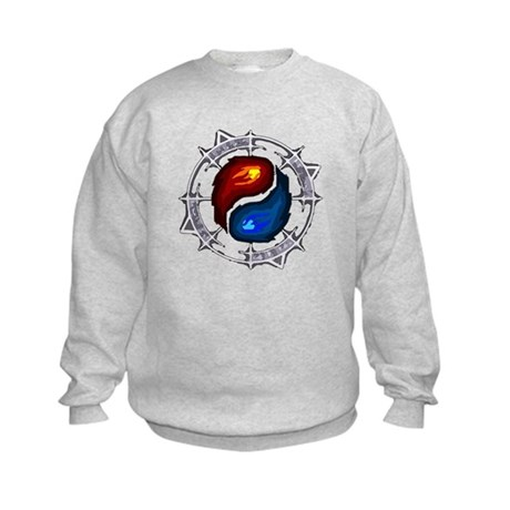 Fire, Ice and Arcane Kids Sweatshirt