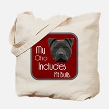 My Ohio Includes Pit Bulls Tote Bag
