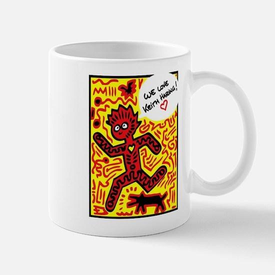 We love Keith Haring Mugs