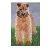 Rescued wheaten terriers Postcards