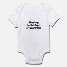 Blessings to the Popti of Gua Infant Bodysuit
