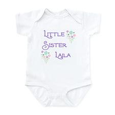 Little Sister Laila Infant Bodysuit