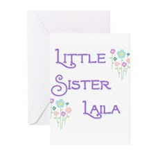 Little Sister Laila Greeting Cards (Pk of 10)