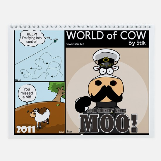 World of Cow 2011 Calendar by StiK
