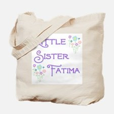 Little Sister Fatima Tote Bag
