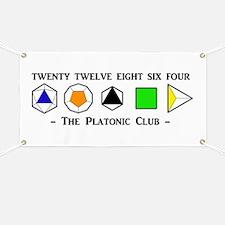 The Platonic Club Banner