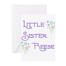 Little Sister Reese Greeting Cards (Pk of 10)