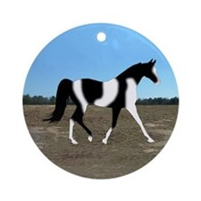 Pinto Fox Trotter Ornament (Round)