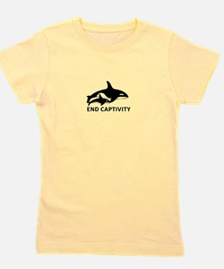 Unique Killer whale Girl's Tee