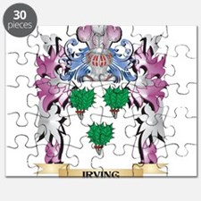 Irving Coat of Arms (Family Crest) Puzzle