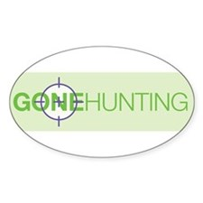 Gone Hunting Decal