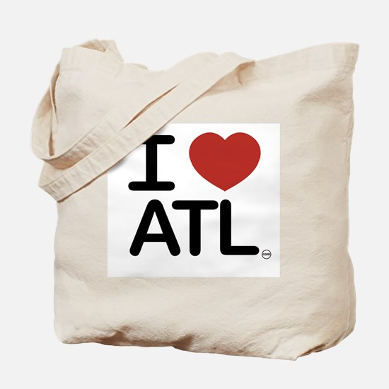 Cute I love atlanta Tote Bag