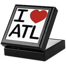 Unique Atlanta georgia Keepsake Box