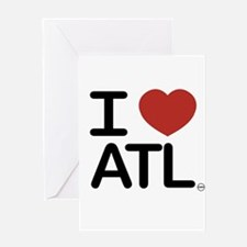 Cute Atlanta ga Greeting Card