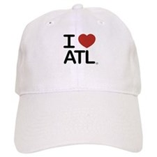 Cute I love atlanta Baseball Cap