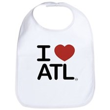 Cute I love atlanta Bib