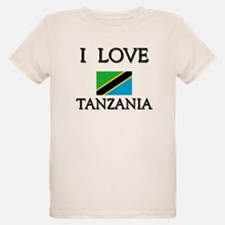 Flag of Tanzania Ash Grey T-Shirt