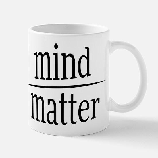 Mind over Matter Fractional Humor Mugs