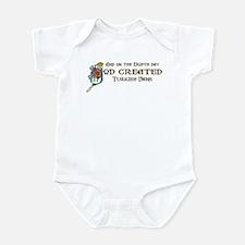 God Created Vans Infant Bodysuit