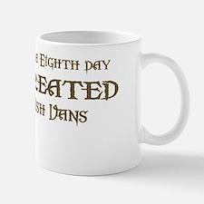God Created Vans Mug