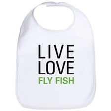 Live Love Fly Fish Bib