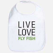 Live Love Fly Fish Bib