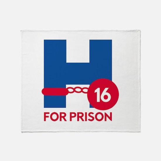 Hillary For Prison Stadium Blanket
