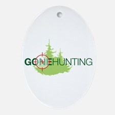Hunting Oval Ornament