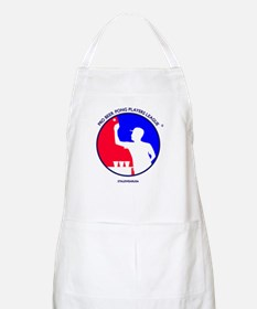 Pro Beer Pong Players Logo BBQ Apron