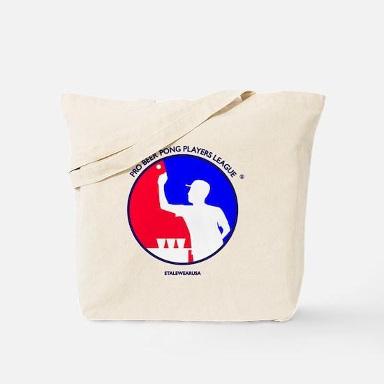 Pro Beer Pong Players Logo Tote Bag