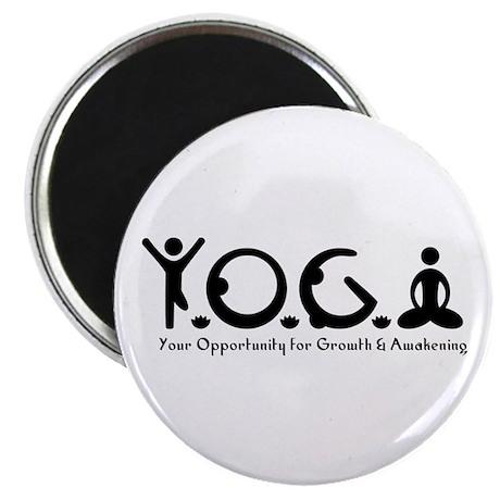 Y-O-G-A Magnet