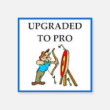 archery joke Sticker