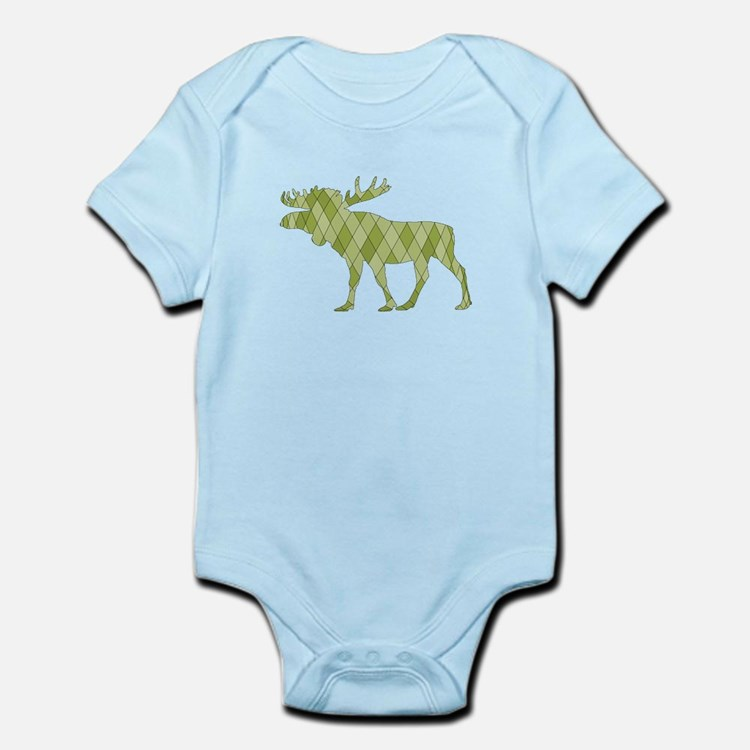 Green Moose Body Suit