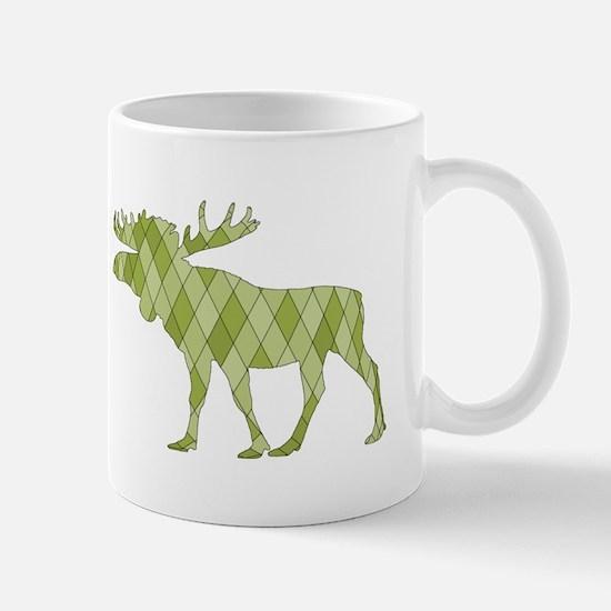 Green Moose Mugs