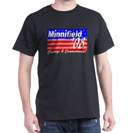 Minnifield in '08 Dark T-Shirt