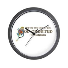 God Created Tonkineses Wall Clock