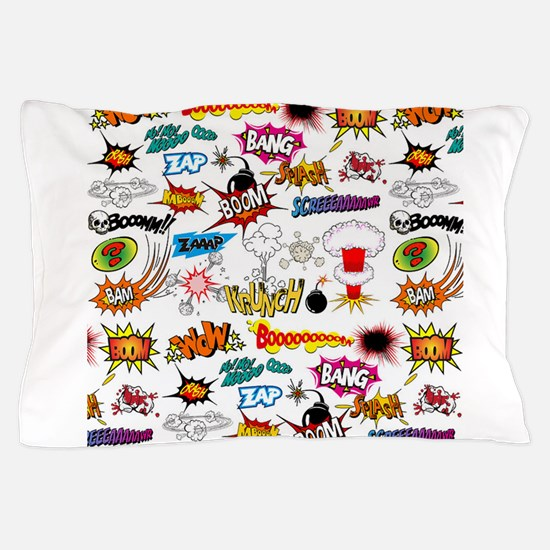 Comics Pillow Case