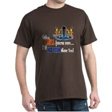 When Hell Freezes Ice Fish T-Shirt