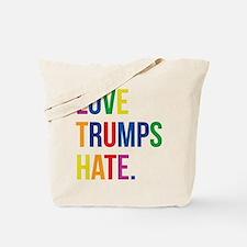 Love Trumps Hate Tote Bag