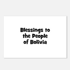 Blessings to the People of Bo Postcards (Package o