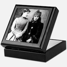 Lily Langtree & Sarah Bernhardt TILE Keepsake Box