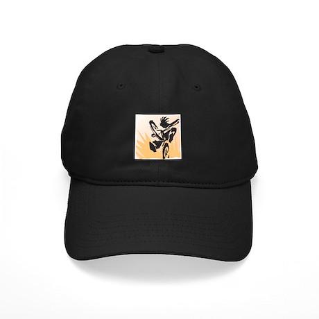 Biking Black Cap