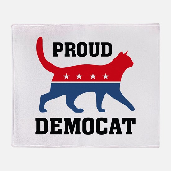 Proud Democat Stadium Blanket