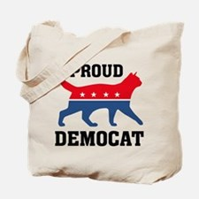 Proud Democat Tote Bag